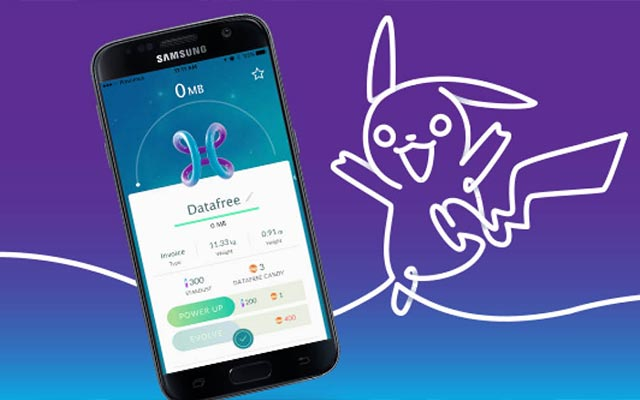 Pokémon Go data traffic free on Proximus network