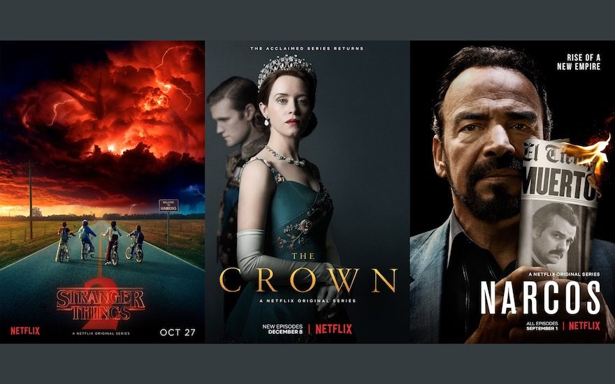 The best Netflix series of 2017