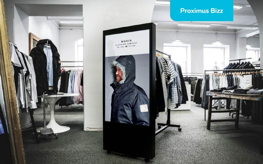 Display screens in your store? 5 ideas.