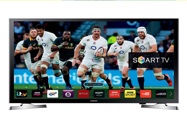 Win a superb Samsung Smart TV