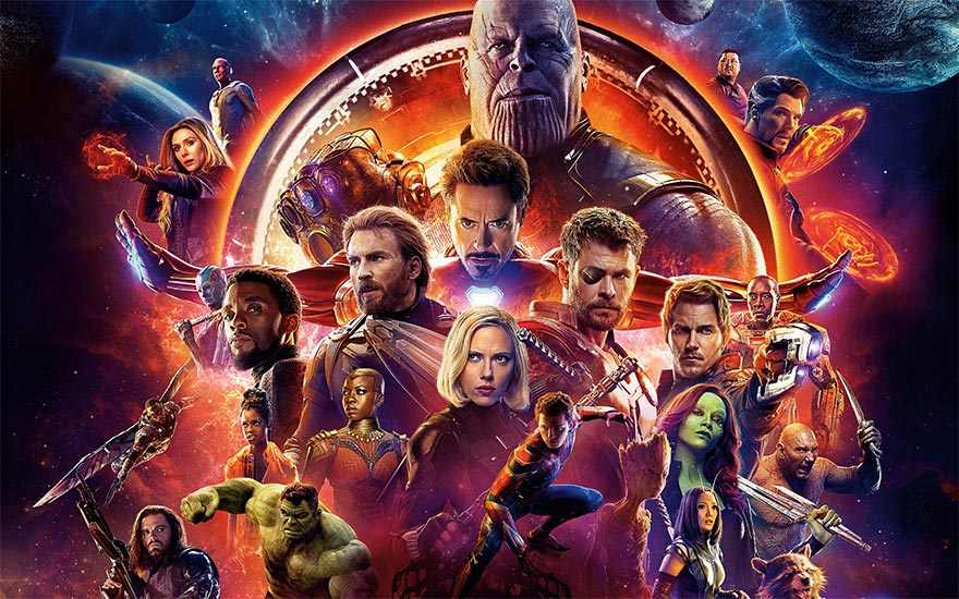 Avengers: Infinity War, now on demand!