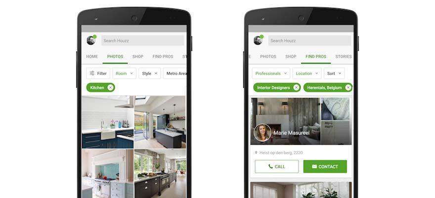 4 apps voor inspiratie bij het inrichten van je woning for Huis inrichten app