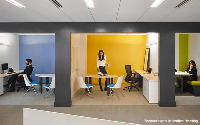 A new look at office design