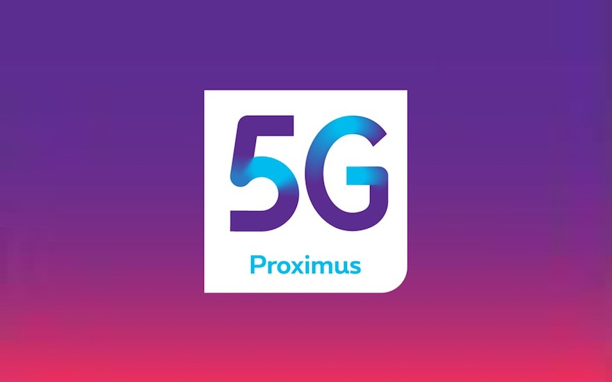 The first to test 5G in Belgium