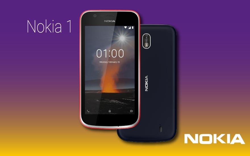 Nokia 1 with new Android Oreo: go!