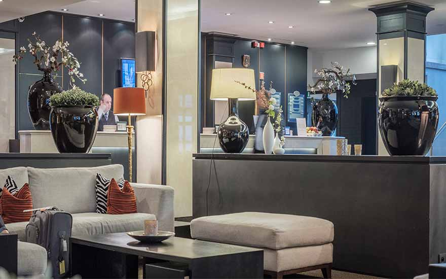 Parker Hotel Brussels Airport scores goals with Wi-Fi