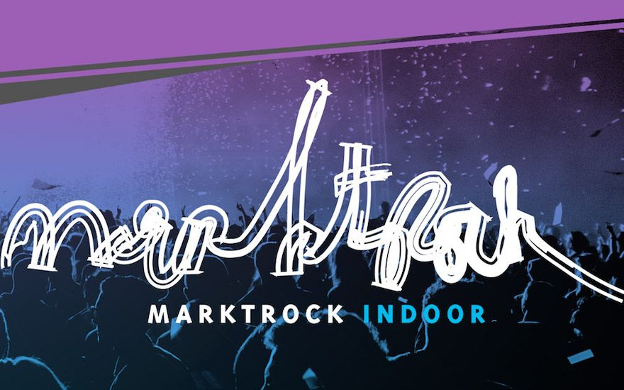 4 music artists on one night? That's Marktrock Indoor!