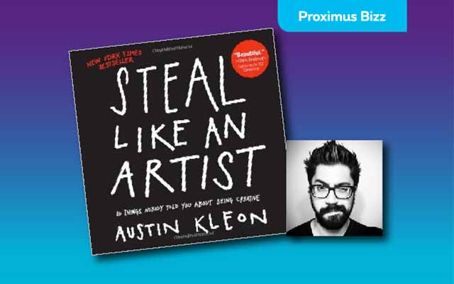 "Read for you: ""Steal Like An Artist"" by Austin Kleon"