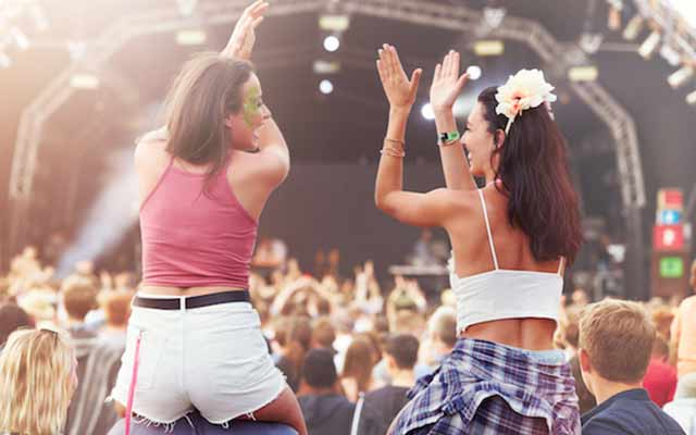Want free festival tickets, for you and three friends?