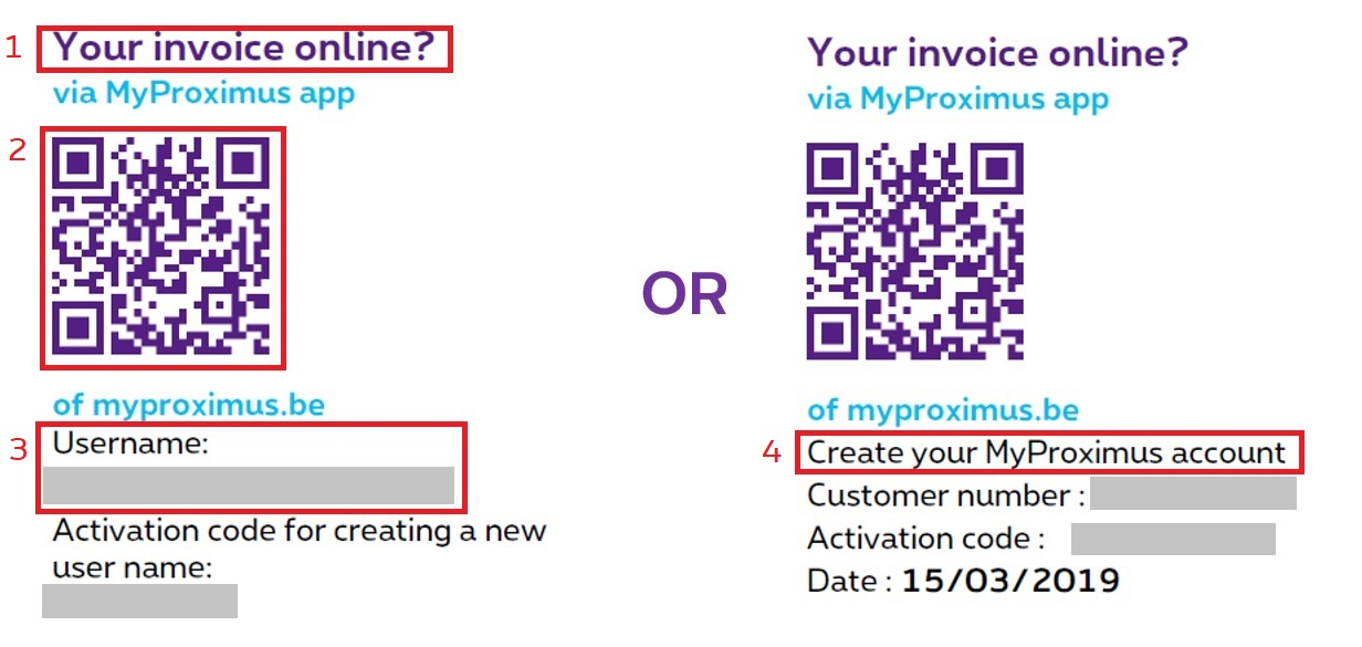 How to get your payment statement via MyProximus